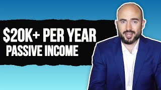 Passive Income: How I Make Over $20,000 Per Year