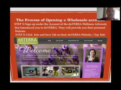 How to Open A doTERRA Wholesale Account from The Philippines and other Global Access Countries