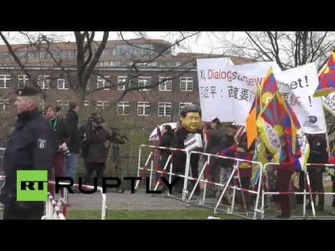 Germany: Chinese President Xi Jinping arrives in Berlin
