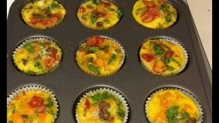 Healthy Vegetable Muffins - Recipe (vegetarianske Muffiny)
