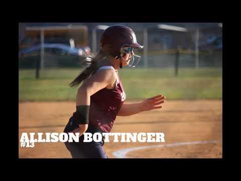 2017-18 Shikellamy Middle School Softball video