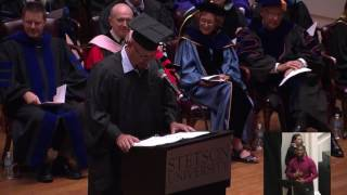 2017 Stetson Commencement: David Mueller 2017 Video
