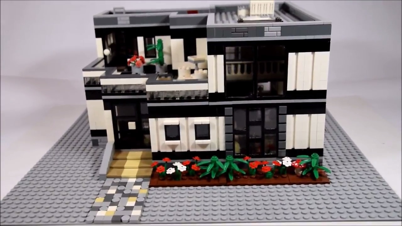 my lego house moc 12 entry to td brick 39 s moc contest youtube. Black Bedroom Furniture Sets. Home Design Ideas