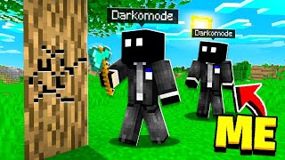 Pretending to be HIS CLONE in Minecraft! *HE FREAKED*