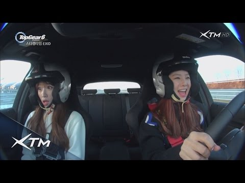 [탑기어코리아6] 3회 : EXID, 그녀들의 운전 실력은?
