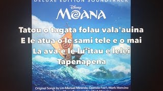 We Know the Way - Moana (Lyrics)