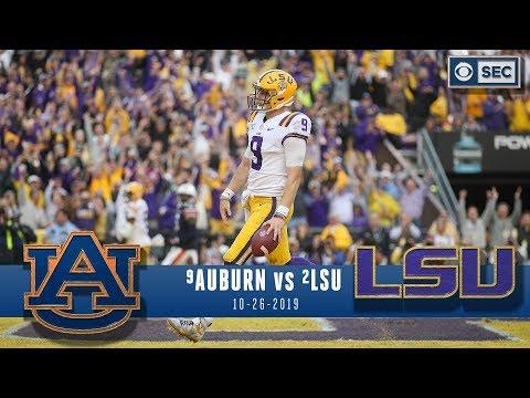 No.9 Auburn Vs No.2 LSU Recap: LSU Flexes In Second Half Of Tiger Bowl | CBS Sports