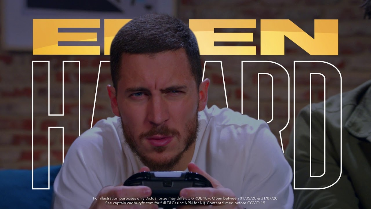 Cadbury Win the Captain | Spend the day with one of footballs finest | Eden Hazard - UKI