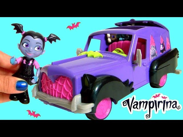Disney Vampirina Play Doh Surprise Hauntley Mobile Vampire Car Toys for Kids