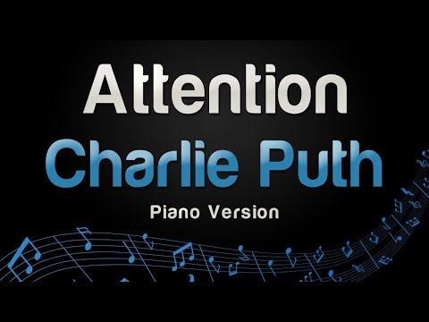 Charlie Puth - Attention (Piano Version)