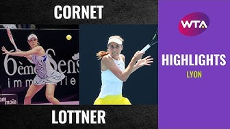 Alizé Cornet vs. Antonia Lottner | 2020 Lyon Open First Round | WTA Highlights