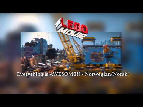 The LEGO Movie - Everything is AWESOME!! - Norwegian/Norsk HD