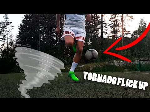 """TORNADO Flick Up"" Tutorial (EASY Football HOW TO!)"