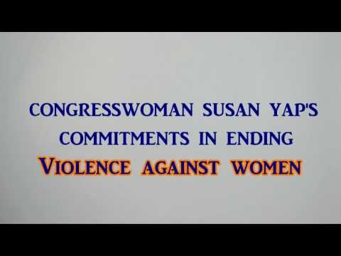 Congresswoman Susan Yap's commitments in ending VAW - Philippine Commission on Women