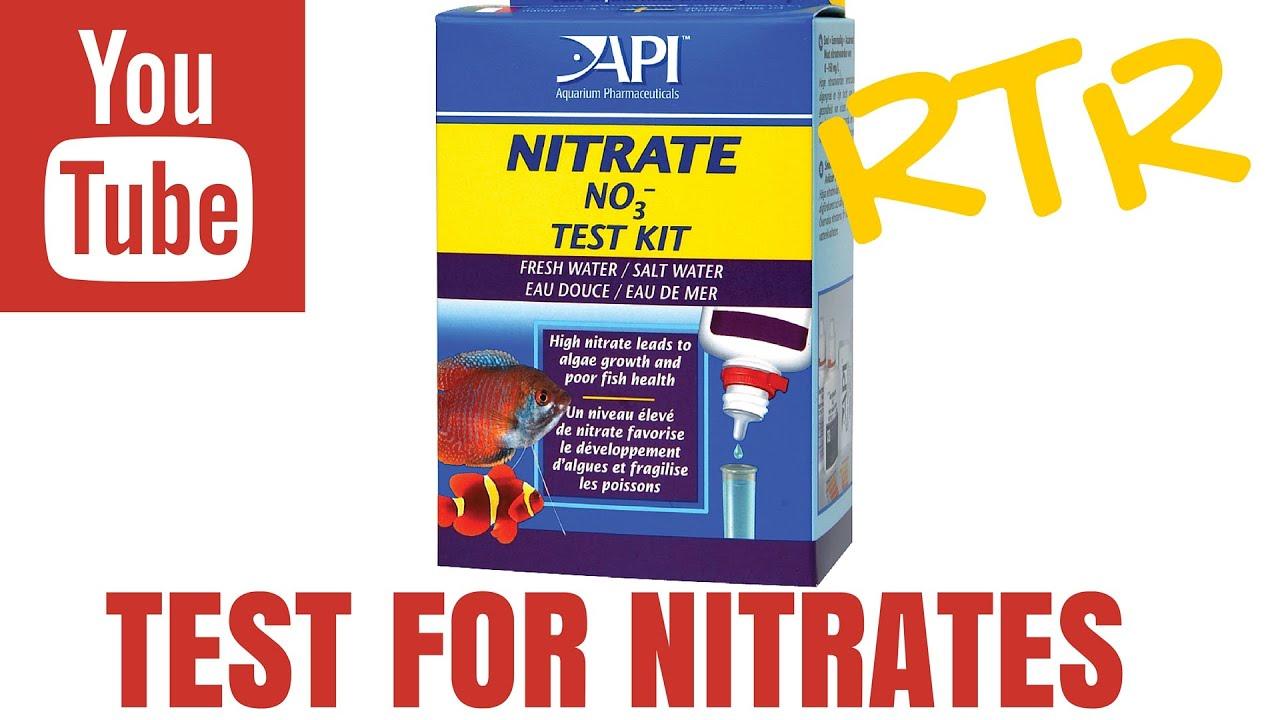 Fish tank test kit - Nitrate Test Kit By Api For Saltwater Aquariums