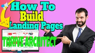 How To Build Landing Pages From Your Website With THRIVE THEME…