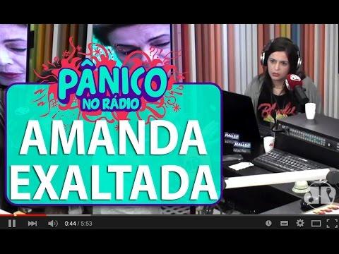 Amanda se exalta e Emílio Surita discursa | Pânico