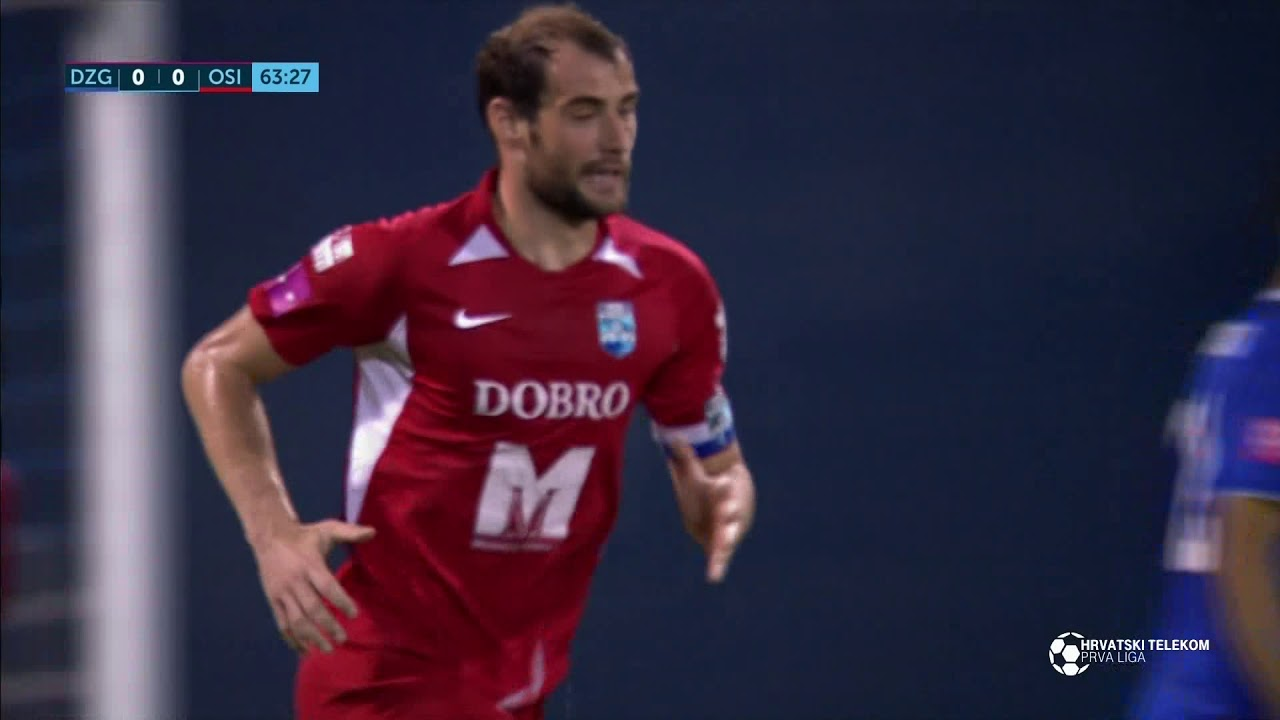 Динамо Загреб  0-0  Осиек видео