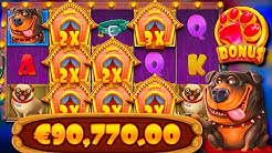 x907 WIN!!! / The Dog House free spins compilation! #9