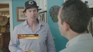 Sports Lite with Mike Hall: Rob Huebel Interview