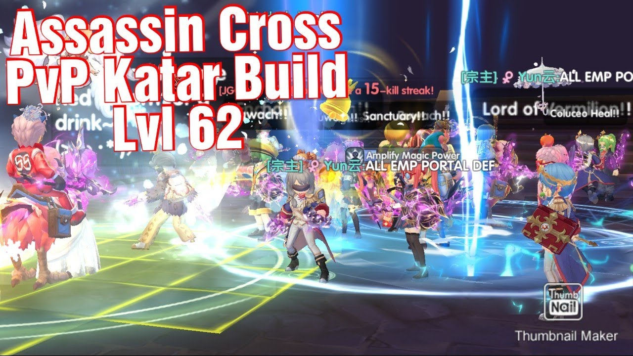 Update Assassin Cross PVP Build Katar 62 | RoX Ragnarok X Next Generation