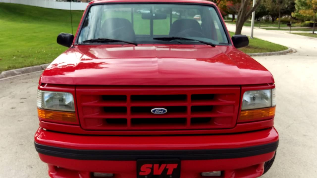 Ford Svt Lightning >> 1995 Ford Lightning SVT #180 - YouTube