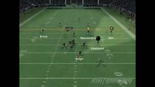 Madden NFL 06 Xbox Gameplay - Offense Tutorial