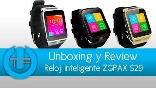 ZGPAX S29 SmartWatch para iOS y Android