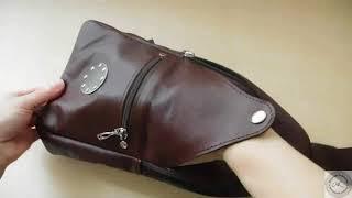 Обзор мужской сумки для СП