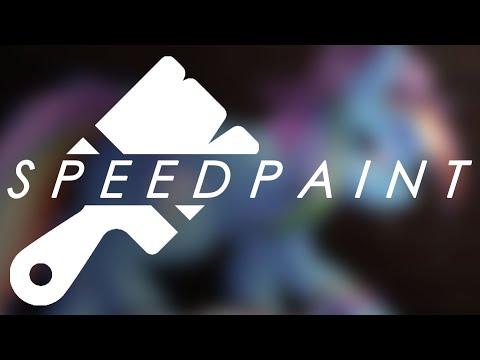 Punk Rainbow Dash [Speedpaint]