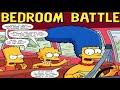 "THE SIMPSONS. Bart & Lisa Simpson ""Bedroom Battle"", VID.COMIC by RANCIA ESTIRPE."