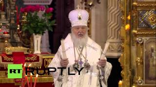 Russia: Patriarch Kirill inaugurates Holy Fire during Orthodox Easter Mass