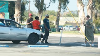 """Selling """"Pieces"""" in Compton PRANK"""