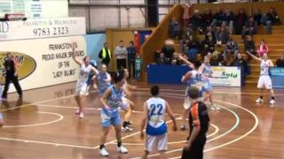 2012 Pre-Season - Lukas Carey - Bendigo Lady Braves