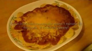 Super Bowl Chili Cheese Bean Nachos Dip