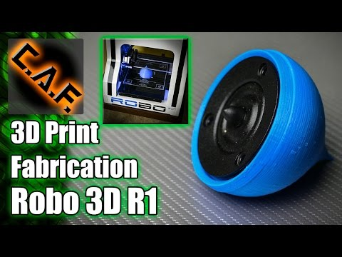 3D Printer Fabrication - Robo3D R1 - CarAudioFabrication