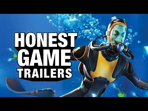 SUBNAUTICA (Honest Game Trailers)
