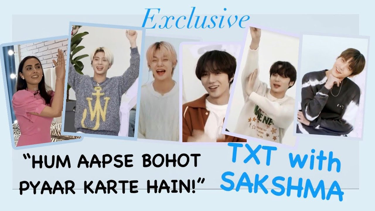 K-Pop band TOMORROW X TOGETHER speaks in HINDI | EXCLUSIVE | ENOW
