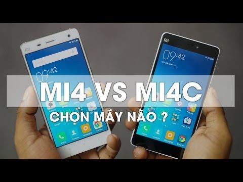So sánh Xiaomi Mi4c với Mi4: Máy nào tốt hơn trong tầm giá hơn 2 triệu ?