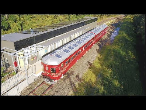 World's First Solar Powered Train!
