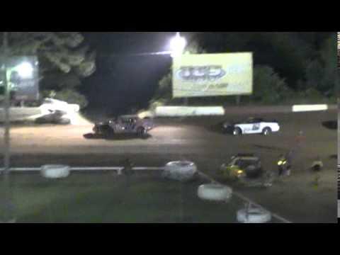 Crowley's Ridge Raceway 6/6/15 #21 Chris Sims Street Stock Feature Race