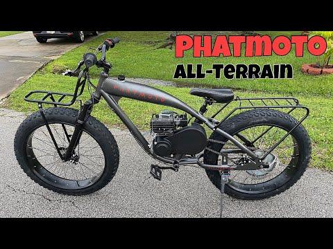 PHATMOTO All -Terrain - Fat Tire Motorized Bicycle! thumbnail