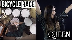 Bicycle Race ft. My Wife - Queen - Vadrum (Drum & Vocal Cover)