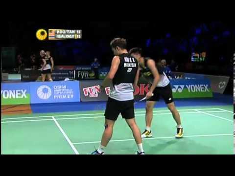 QF - MD - Koo K.K./Tan B.H. vs B.Issara/M.Jongjit - 2012 Yonex Denmark Open