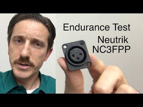 NC3FPP Neutrik Connector Endurance Test