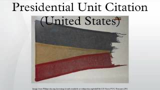 Presidential Unit Citation (United States)