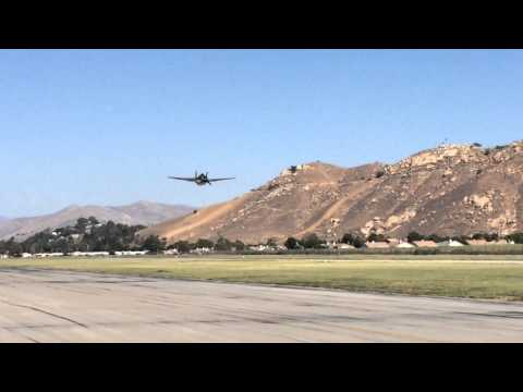 Grumman TBM Avenger - Low High Speed Pass.  HD