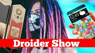 Гибкий прозрачный Samsung, Google PAY на iPhone и мобила за 2 МЛН | Droider Show #346