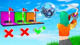 Fortnite Mini Golf TROLL HOLE Challenge! (Fortnite Creative)