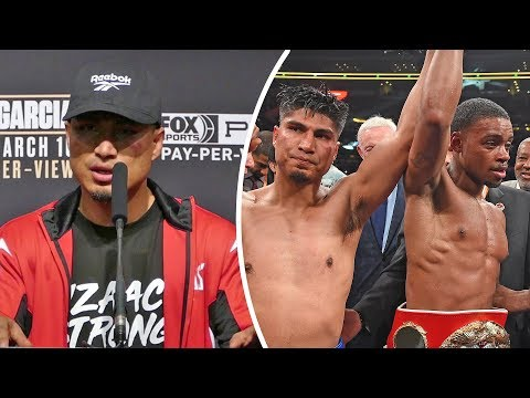 Mikey Garcia * FULL POST FIGHT PRESS CONFERENCE * vs Errol Spence